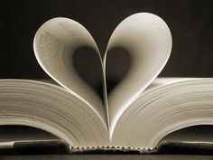 Heart-shaped-book-pages