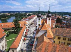 Telč, Czech Republic  Residents of Telč, a small town in south Moravia, were once quite competitive about the beauty of their homes, as is e...