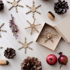 Wooden Snowflakes Card with Earrings 04 by VanesDay on Etsy Wooden Snowflakes, Snowflake Cards, Wood Earrings, Perfect Christmas Gifts, Card Sizes, Your Cards, Handmade Gifts, Gift Ideas, Etsy