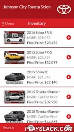 Toyota service repair coupons haley toyota certified sales and johnson city toyota scion android app playslack johnson city toyota scions elead loyalty mobile application allows you the customer fandeluxe Choice Image