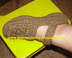 ZONA DE MANUALIDADES: Balerinas a Crochet