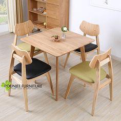 Meja Makan Minimalis Jati Model Jepang Pounjee Furniture