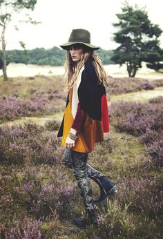 urbanNATURES Mountain Style: Patchwork Sweater & Hat