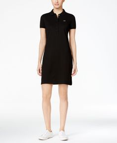 5f57702355 Lacoste Polo Shirtdress Lacoste Polo Shirts, Casual Dresses, Dresses For  Work, Dress Outfits