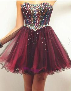 Homcoming Dress,Short Homecoming Dress,Tulle Prom Dress,Prom Dresses