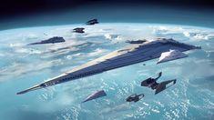 Spaceship Art, Spaceship Design, Spaceship Concept, Grand Admiral Thrawn, United Federation Of Planets, Arte Sci Fi, Sci Fi Spaceships, Star Wars Novels, Star Wars Vehicles