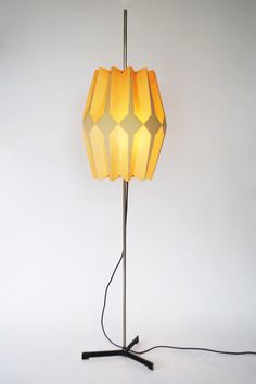 Dutch modernist floor lamp - Palissander - Palissander