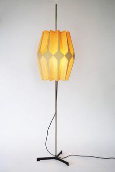 Dutch modernist floor lamp - Palissander - Palissander