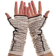 Little Women Writing Gloves