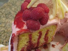 Raspberry Lemonade Cake. Make a cake bursting with favorite summertime flavors.