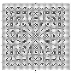 7f7362b408 (800×815) biscornu cross stitch