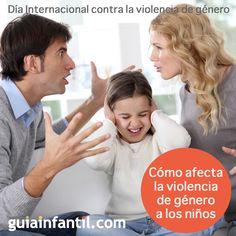 En este Día Internacional de lucha contra la violencia de género, queremos animar a las mujeres que viven esta situación, a denunciarla. http://www.guiainfantil.com/articulos/educacion/abusos/la-violencia-de-genero-y-los-ninos/