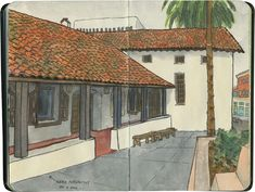 Mission San Rafael Arcángel (or the modern facsimile thereof), California.