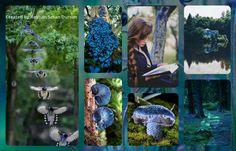 '' Deep in blue forest '' by Reyhan Seran Dursun