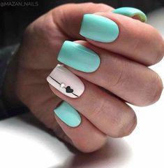 Cute Summer Nail Designs, Classy Nail Designs, Winter Nail Designs, Nail Art Designs, Nails Design, Classy Acrylic Nails, Glitter Gel Nails, Classy Nails, Summer Gel Nails