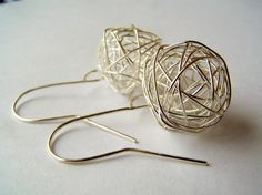 Yarnballs Balls of Wire on Large Shepherd Hook by polishedtwo, $9.00 (I already own a pair & I love them!)