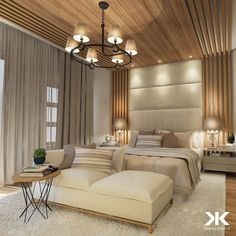 [Video] The 10 Best Home Decor (in the World). Master Bedroom Design, Dream Bedroom, Home Decor Bedroom, Modern Bedroom, Elegant Home Decor, Decoration Design, Suites, Home Interior Design, Home Furniture