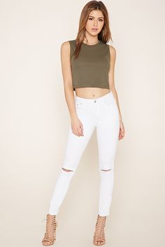 Ribbed Knit Top | Forever 21 - 2000152332