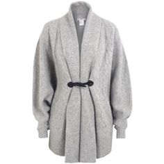 Light grey cardigan by Paul & Joe sister Knitted light grey cardigan. Size small but it's really a one size cardigan. 70% lambswool 20% angora 10% nylon. Good condition. Paul & Joe sister Other