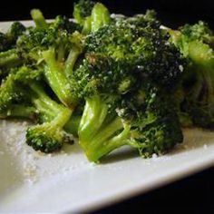 I tried this tonight...Ryan raved about it! Brilliant Sauteed Broccoli Recipe
