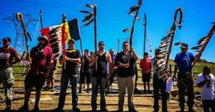 The media is silent amid the declaration of a state of emergency over a peaceful and successful protest by Native Americans to block a pipeline.
