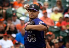 Rockies' Jhoulys Chacin gets MRI results: inflammation, shut down at least a week ~ Sports Injury Alert