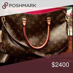 Louis Vuitton Pallas LV Pallas Aurore handbag in EUC. 100% authentic. More pics coming soon. Louis Vuitton Bags