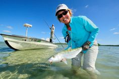 One of the best places in the world to find fantastic flats fishing: The Bahamas