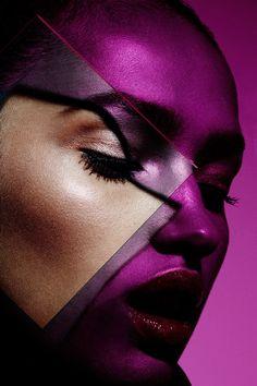 Plexiglass Graphic Colorful Beauty with model Camila Costa   NEW YORK FASHION…