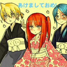 [ MAGI ] another happy new year picture??? by cookiekrio