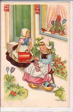 dutch by Vintage_Knitting, via Flickr