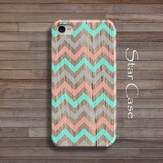 I love this Etsy store- Great cell phone cases : Chevron iPhone 5 Case, Wood iPhone 5s Case Wooden iPhone 4 Case Geometric Phone 4s Case Chevron iPhone 5 Teal Coral Tribal Aztec iPhone 5 4