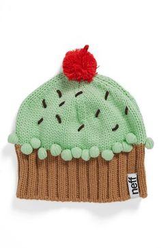 Neff 'Cupcake' Beanie (Girls) | Nordstrom