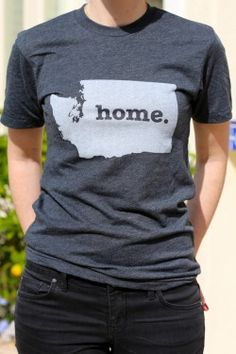 The #Washington Home T - a portion of profits are donated to multiple sclerosis research http://www.thehomet.com/washington-home-t-shirt