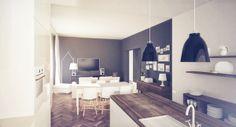 APARTMENT BYDGOSZCZ by Alina Rybacka-Gruszczyńska, via Behance Behance, Interiors, Cabinet, Storage, Furniture, Home Decor, Clothes Stand, Purse Storage, Decoration Home