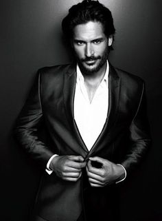 Joe Manganiello. Can't wait for True Blood to come back on!!