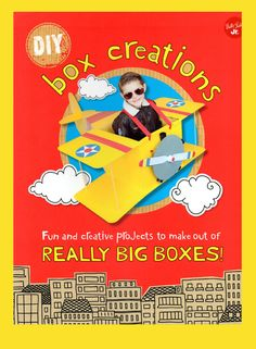Boxing clever with cardboard boxes: 12 playroom makes: http://thepapercraftpost.blogspot.co.uk/2016/08/diy-boc-creations-by-courtney-sanchez.html