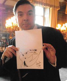 Rhino Doodle by Brendan Coyle (Downton Abbey)