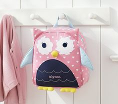Find gifts for any occasion or celebration at Pottery Barn Kids. Discover personalized gifts ideas for kids, toddlers, and babies Owl Backpack, Toddler Backpack, Cute Backpacks, School Backpacks, Little Ones, Little Girls, Kids Bags, Cute Bags, Pottery Barn Kids