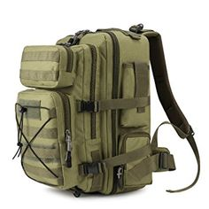 Sports & Entertainment Camping & Hiking Beautiful Outdoor Travel Camping Hiking Survival Backpack Assault Army Military Tactical Rucksacks 50l Molle 3d Waterproof Nylon Bags To Reduce Body Weight And Prolong Life