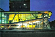 Educatorium // OMA (Rem Koolhaas) 1997: flashback to my college days,  such a treat to have classes there.