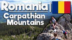 Carpathian Mountains in Romania!   Bucharest!