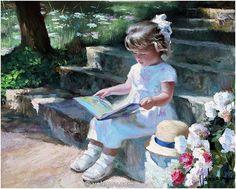 Vladimir Volegov 48. Fairy Story (2011) *SOLD* http://www.volegov.com/fairy-story-painting/