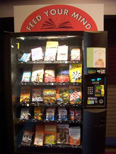 Book Vending Machine…