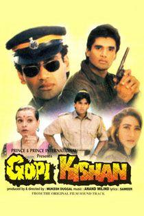 Gopi Kishan (1994) Hindi Movie Online in HD - Einthusan Sunil Shetty, Shilpa Shirodkar, Karishma Kapoor Directed by Mukesh Duggal Music by Anand-Milind 1994 [A] ENGLISH SUBTITLE