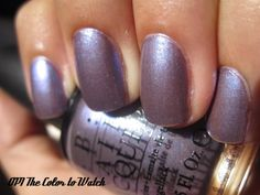 OPI : The color to watch