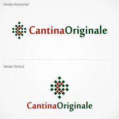 Arte campeã do projeto Cantina Italiana #logovia #logodesign #logomarca