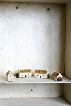 Miniature Irish Cottage