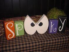 Spooky Halloween Blocks
