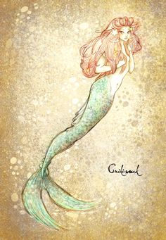 this is my own versión of Disney Little mermaid, fanart of Disney princess Ariel, inspired or with a Little twist of Harry Potter scary water creatures,. little Mermaid Easy Mermaid Drawing, Mermaid Drawings, Mermaid Tattoos, Magical Creatures, Fantasy Creatures, Sea Creatures, Mermaid Fairy, Mermaid Tale, Mermaid Pics